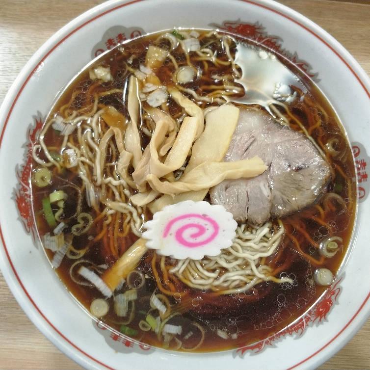 平塚大黒庵のラーメン