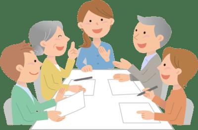 家族会のイメージ