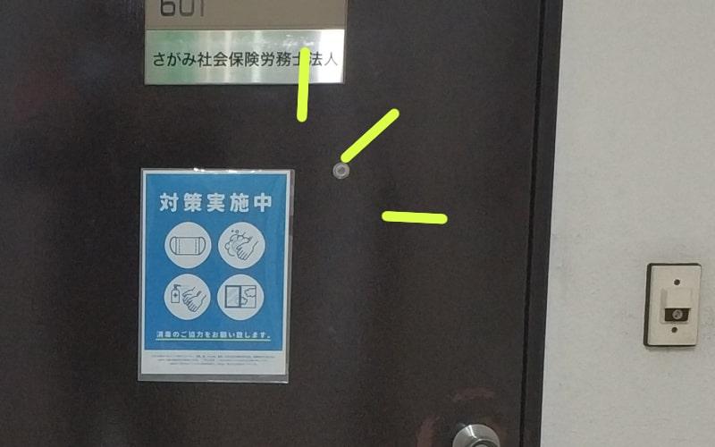さがみ社会保険労務士法人 横浜オフィスドア