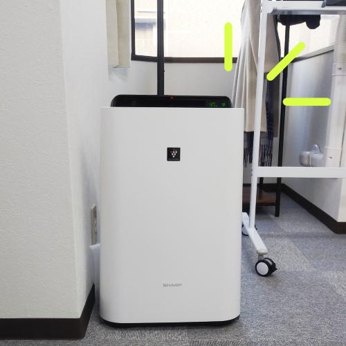 さがみ社会保険労務士法人 横浜オフィスの空気清浄機