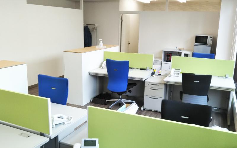 湘南平塚オフィス 執務室