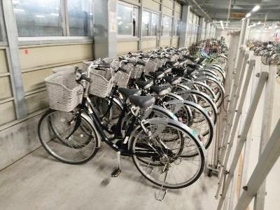 平塚レンタサイクルの自転車